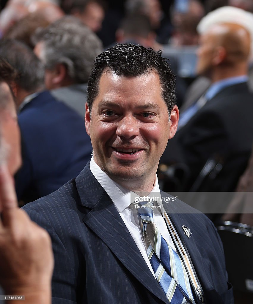 Bill Guerin of the Pittsburgh Penguins attends day two of the 2012 NHL Entry Draft at Consol Energy Center on June 23, 2012 in Pittsburgh, Pennsylvania.