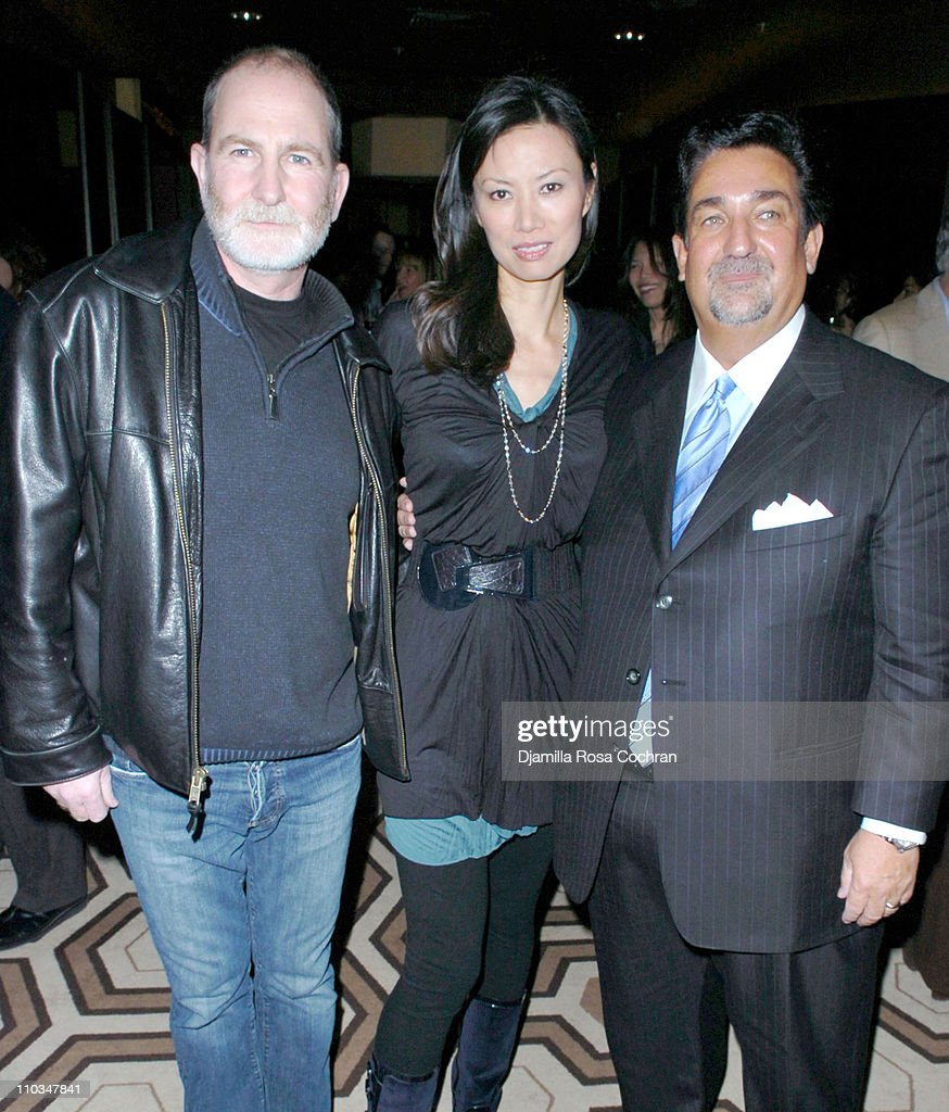 Bill Guttentag, Wendi Murdoch and Ted Leonsis attend 'Nanking' New York Screening at Tribeca Grand Screening Room on October 29th, 2007 in New York City, New York.