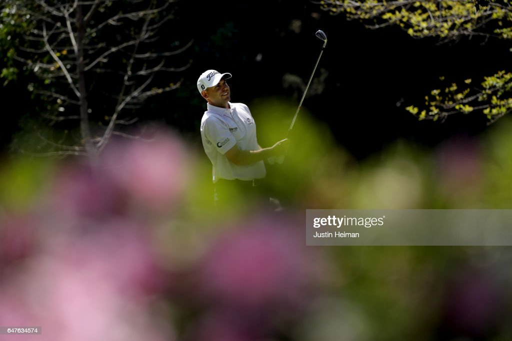 Bill Haas of the United States plays his tee shot on the seventh hole during the second round of the World Golf Championships Mexico Championship at Club De Golf Chapultepec on March 3, 2017 in Mexico City, Mexico.