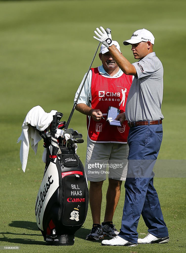 <a gi-track='captionPersonalityLinkClicked' href=/galleries/search?phrase=Bill+Haas&family=editorial&specificpeople=646978 ng-click='$event.stopPropagation()'>Bill Haas</a> of USA prepares to play on the 2nd hole during day three of the CIMB Classic at The MINES Resort & Golf Club on October 27, 2012 in Kuala Lumpur, Malaysia.