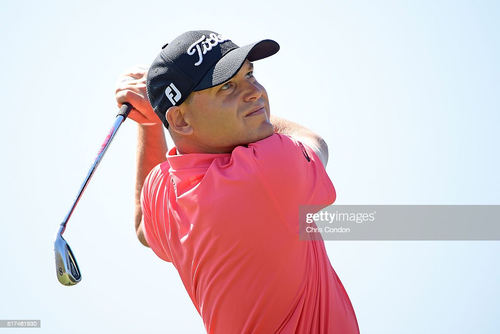 Bill Haas tees off on the 7th hole during the third round of the World Golf Championships - Dell Match Play at Austin Country Club on March 25, 2016 in Austin, Texas.