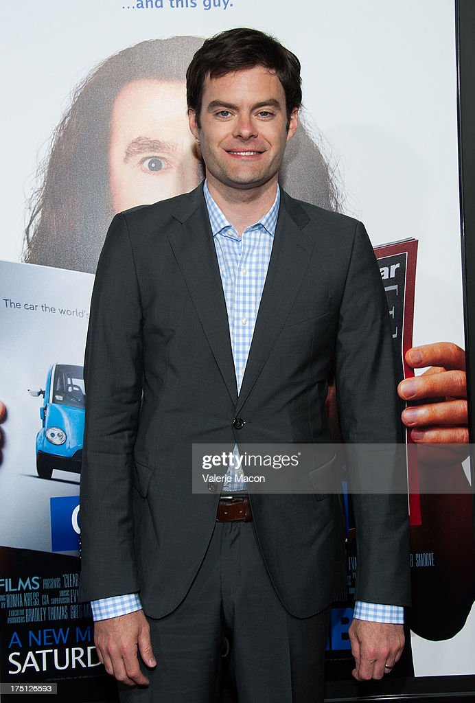 <a gi-track='captionPersonalityLinkClicked' href=/galleries/search?phrase=Bill+Hader&family=editorial&specificpeople=757145 ng-click='$event.stopPropagation()'>Bill Hader</a> arrives at the Premiere Of HBO Films' 'Clear History' at ArcLight Cinemas Cinerama Dome on July 31, 2013 in Hollywood, California.