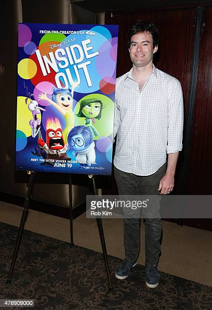 Bill Hader attends The Moms 'Inside Out' Mamazzi Event With Bill Hader at Dolby Screening Room on June 12 2015 in New York City