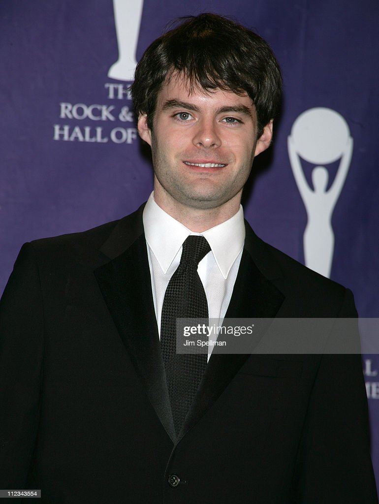 Bill Hader during 22nd Annual Rock and Roll Hall of Fame Induction Ceremony - Press Room at Waldorf Astoria in New York City, New York, United States.