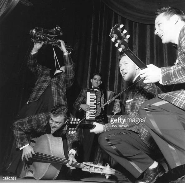 Bill Haley And His Comets in concert at London's Dominion on Tottenham Court Road