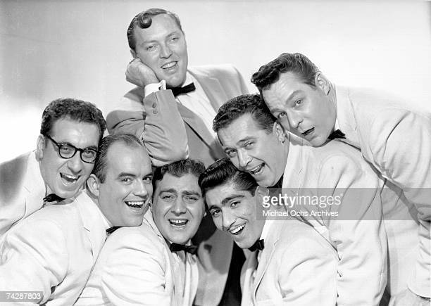 Bill Haley and His Comets LR Rudy Pompilli Billy Williamson Al Rex Johnny Grande Ralph Jones Franny Beecher Bill Haley is on top in New York City New...