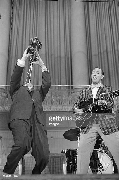 Bill Haley and the comets Konzerthaus Vienna 1958 Photograph by Franz Hubmann