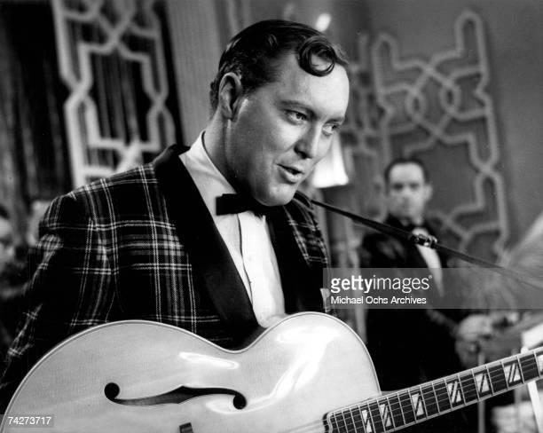 Bill Haley performs circa 1956
