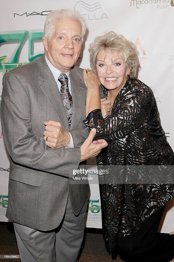 Bill Hayes (L) and Susan Hayes (R) arrive at The Make-Up Artists And Hair Stylists Guild 75th Anniversary Gala at The Hollywood Museum on November 3, 2012 in Hollywood, California.
