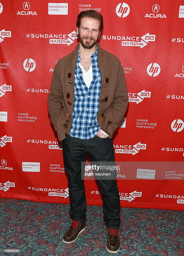Bill Heck attends 'Pit Stop' Premiere at Prospector Square on January 21, 2013 in Park City, Utah.