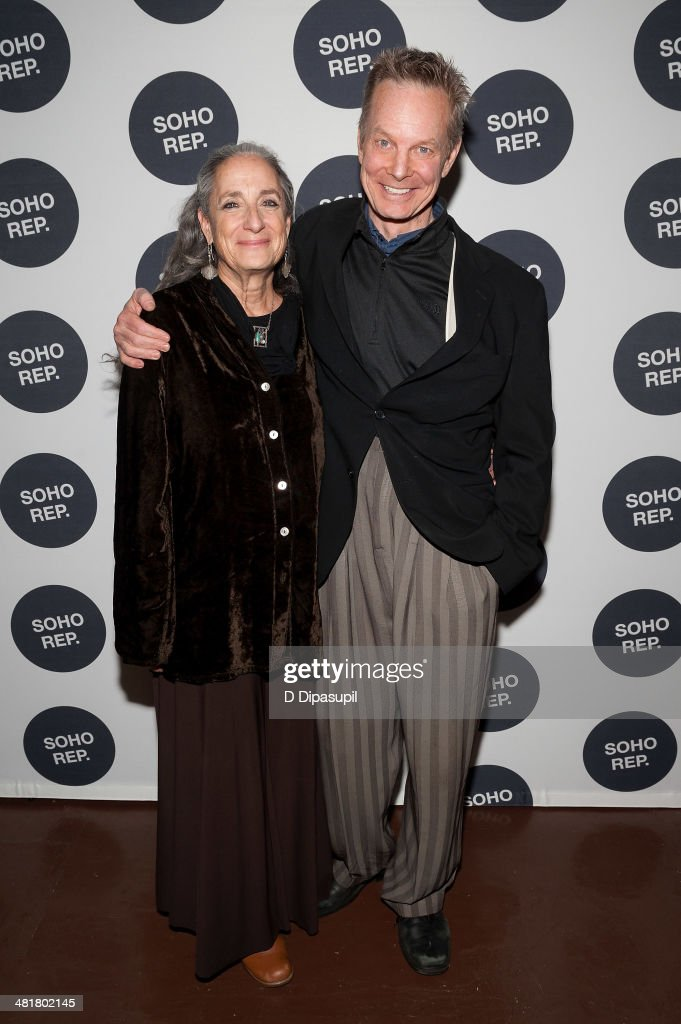 <a gi-track='captionPersonalityLinkClicked' href=/galleries/search?phrase=Bill+Irwin&family=editorial&specificpeople=213628 ng-click='$event.stopPropagation()'>Bill Irwin</a> (R) and wife Martha Roth attend Soho Rep's 2014 Spring Fete at The Angel Orensanz Foundation on March 31, 2014 in New York City.