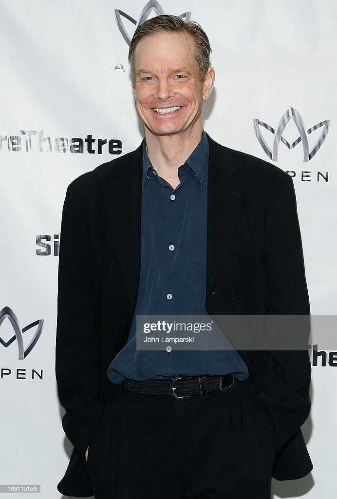 <a gi-track='captionPersonalityLinkClicked' href=/galleries/search?phrase=Bill+Irwin&family=editorial&specificpeople=213628 ng-click='$event.stopPropagation()'>Bill Irwin</a> attends the 'Old Hats' Opening Night at Signature Theatre Company's The Pershing Square Signature Center on March 4, 2013 in New York City.