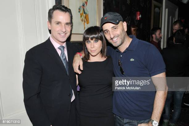Bill Kapfer Lauren Rodolitz and Karl Simone attend INSPIRATION GALA Launch Event Hosted by amfAR at Norwood on March 18 2010 in New York City