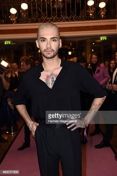 Bill Kaulitz attends the 'Best Brands 2015 Gala Award' at Hotel Bayerischer Hof on February 11 2015 in Munich Germany