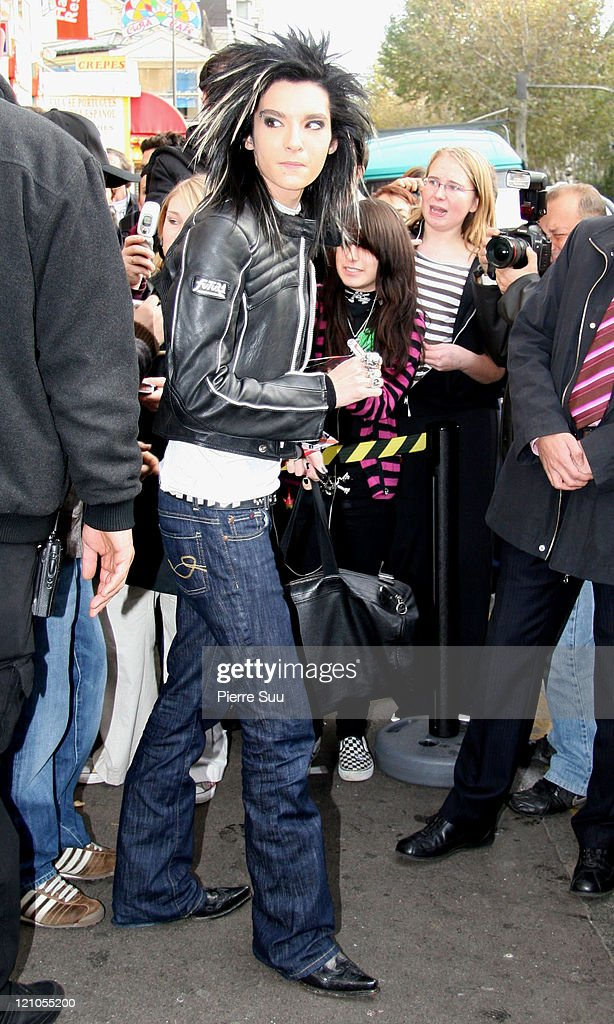 "German Boy Band ""Tokio Hotel"" Sighting in Paris - November 27, 2006"