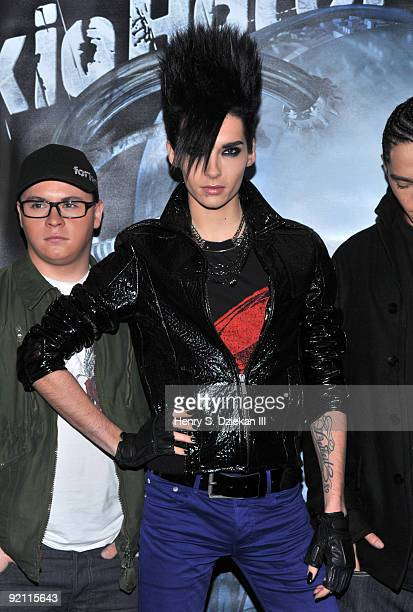Bill Kaulitz of Tokio Hotel promotes 'Humanoid' at Best Buy on October 20 2009 in New York City