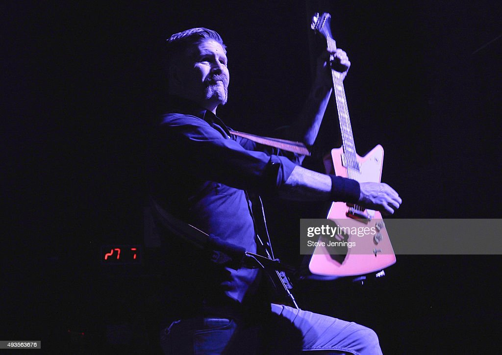Bill Kelliher of Mastodon performs at The Warfield Theater on October 20, 2015 in San Francisco, California.