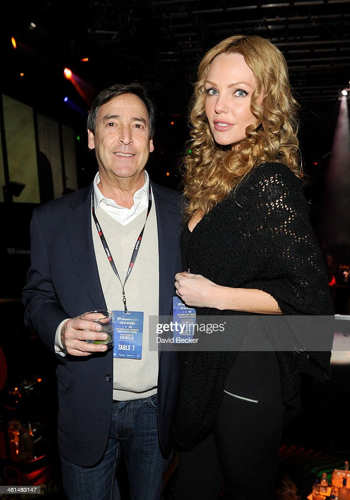 Bill Koenigsberg, CEO Horizon Media (L) attends a private party celebrating CES 2014 hosted by iHeartRadio featuring a live performance by Krewella at Haze Nightclub at the Aria Resort & Casino at CityCenter on January 8, 2014 in Las Vegas, Nevada.