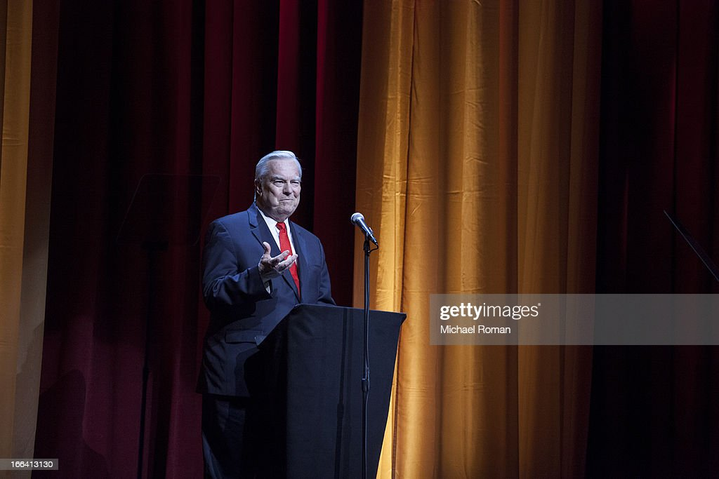 Bill Kurtis attends the Roger Ebert Memorial Tribute at Chicago Theatre on April 11, 2013 in Chicago, Illinois.