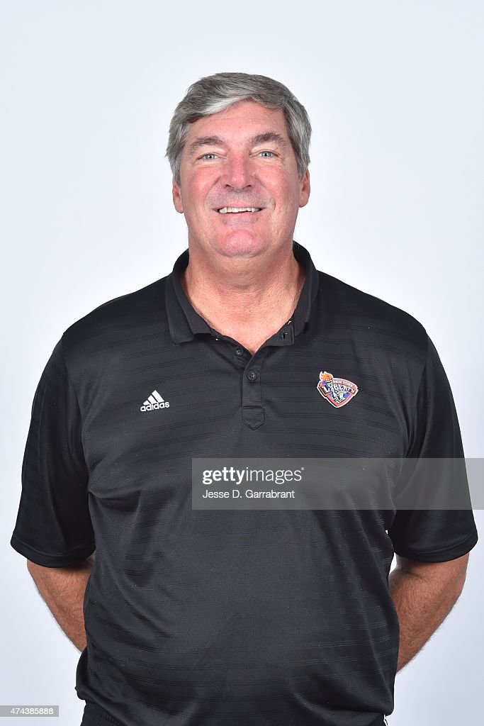 <a gi-track='captionPersonalityLinkClicked' href=/galleries/search?phrase=Bill+Laimbeer&family=editorial&specificpeople=213835 ng-click='$event.stopPropagation()'>Bill Laimbeer</a> of the New York Liberty poses for a head shot during media day on May 21, 2015 at Madison Square Garden in New York, New York.