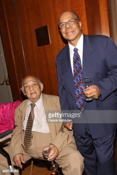 Bill Lalumia and Roland Wallace attend The Boys' Club of New York AllStar Band in Concert at Juilliard at Peter J Sharp Theatre on June 9 2009 in New...
