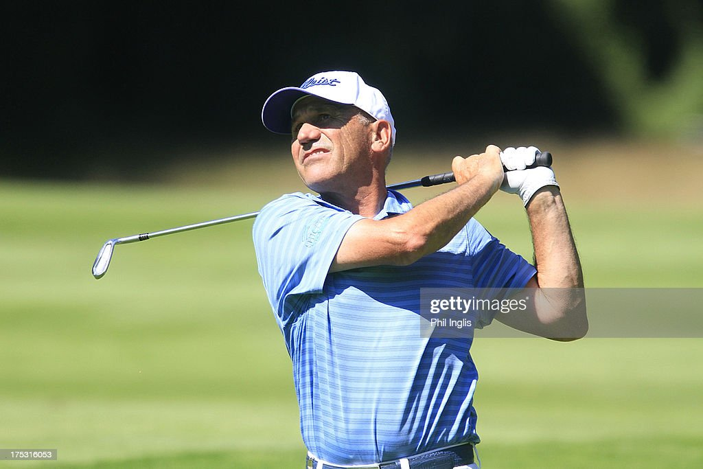 Bill Longmuir of Scotland in action during the first round of the Berenberg Bank Masters played at Golf- Und Land-Club Koln on August 2, 2013 in Cologne, Germany.