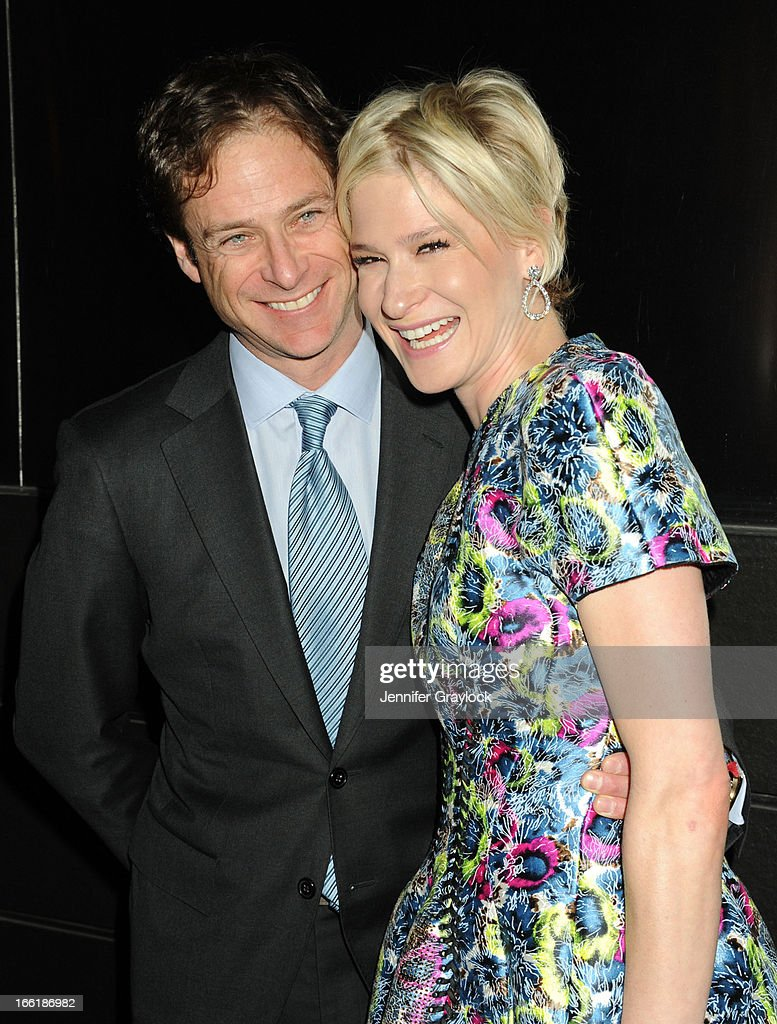 Bill Macklowe and Julie Macklowe attend the New Yorkers for Children 10th Anniversary Spring Dinner Dance New Year's in April: A Fool's Fete to benefit youth in foster care presented by Valentino at Mandarin Oriental Hotel on April 9, 2013 in New York City.