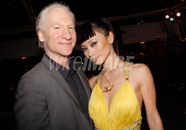 Former boyfriend and girlfriend: Bill Maher and Bai Ling