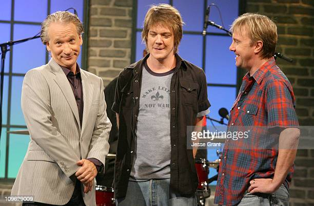 Bill Maher and Soul Asylum during Amazoncom 'Fishbowl with Bill Maher' Ivan Reitman July 20 2006 at VPS Studios in Hollywood California United States