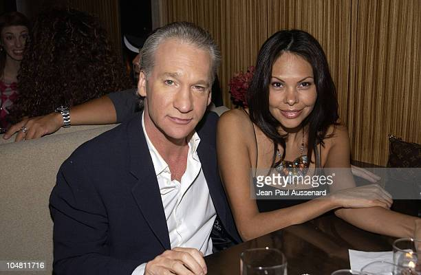 Bill Maher Audra Wise during Frederick's of Hollywood Red Party at Falcon in Hollywood California United States
