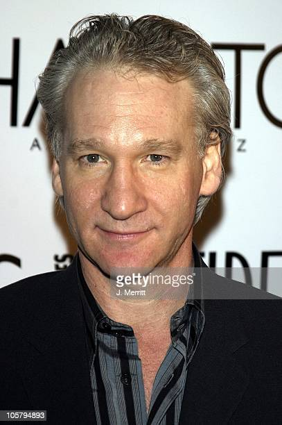 Bill Maher during LA Confidential's Fall Fashion Emmy Issue Party at The Shelter Supper Club in West Hollywood California United States