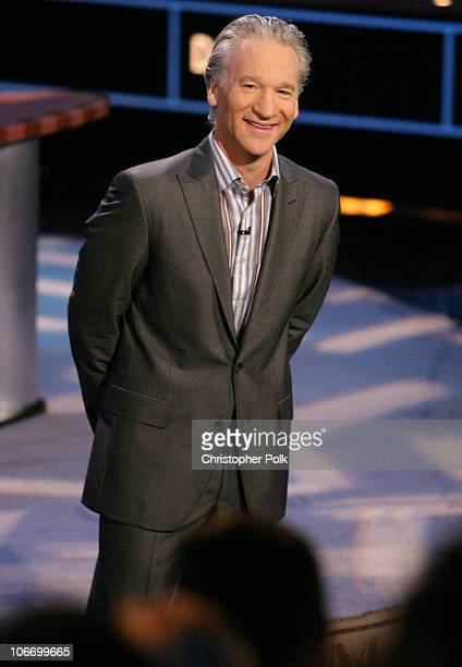 Bill Maher during HBO's Real Time With Bill Maher with Special Guest Governor Gray Davis at CBS Studios in Hollywood California United States