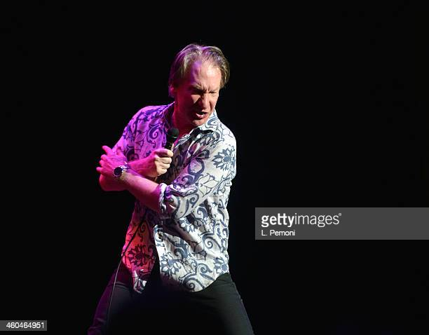 Bill Maher during his New Year's Eve show at Neal S Blaisdell Concert Hall on December 31 2013 in Honolulu Hawaii
