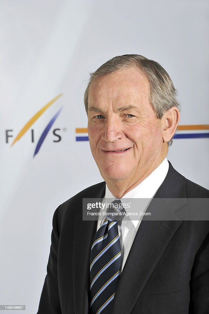 Bill Marolt of the newly elected International Ski Federation Council at the FIS Congress on May 30 2012 in Jeongseongun South Korea