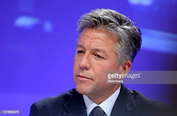 Bill McDermott cochief executive officer of SAP AG pauses during a news conference in Frankfurt Germany on Wednesday Jan 25 2012 SAP AG the biggest...