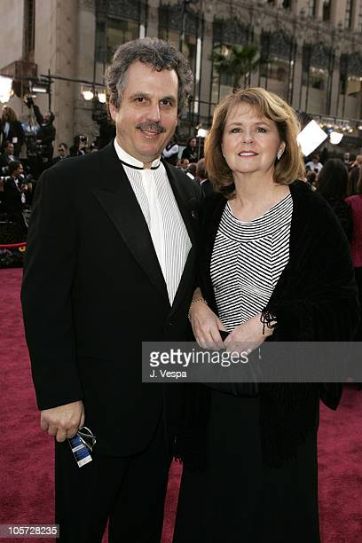 Bill Mechanic of Pandemonium and wife Carol during The 77th Annual Academy Awards Executive Arrivals at Kodak Theatre in Hollywood California United...
