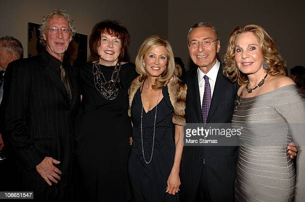 Bill Miller Artist Marilyn Minter Jennifer Stockman William Mack and Tiki Atencio attend the 2010 Guggenheim International Gala at Solomon R...