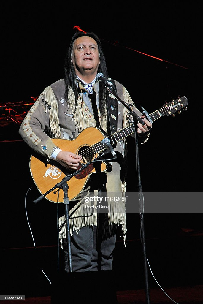 Bill Miller performs at the 'Bring Leonard Peltier Home 2012' Concert at The Beacon Theatre on December 14, 2012 in New York City.