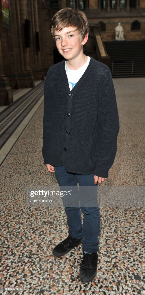 Bill Milner attends the launch party for 'The Deep' exhibition at Natural History Museum on May 26, 2010 in London, England.