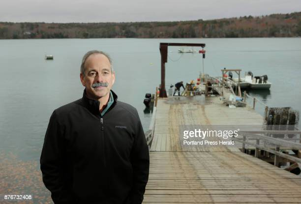 Bill Mook photographed at the wharf of Mook Sea Farm along the Damariscotta River in Walpole on Thursday November 16 says that Maine hasn't done much...