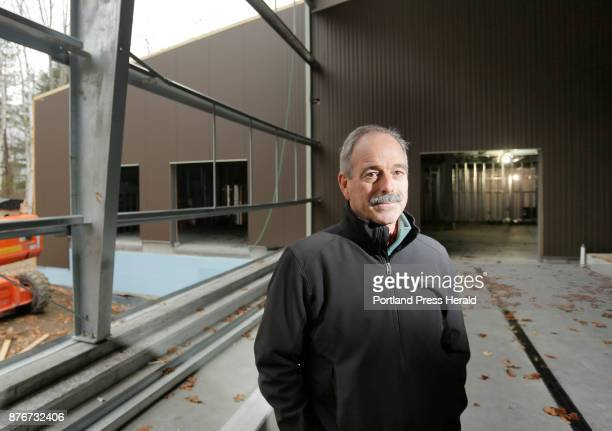 Bill Mook photographed in a building under construction at Mook Sea Farm in Walpole on Thursday November 16 says that Maine hasn't done much to...