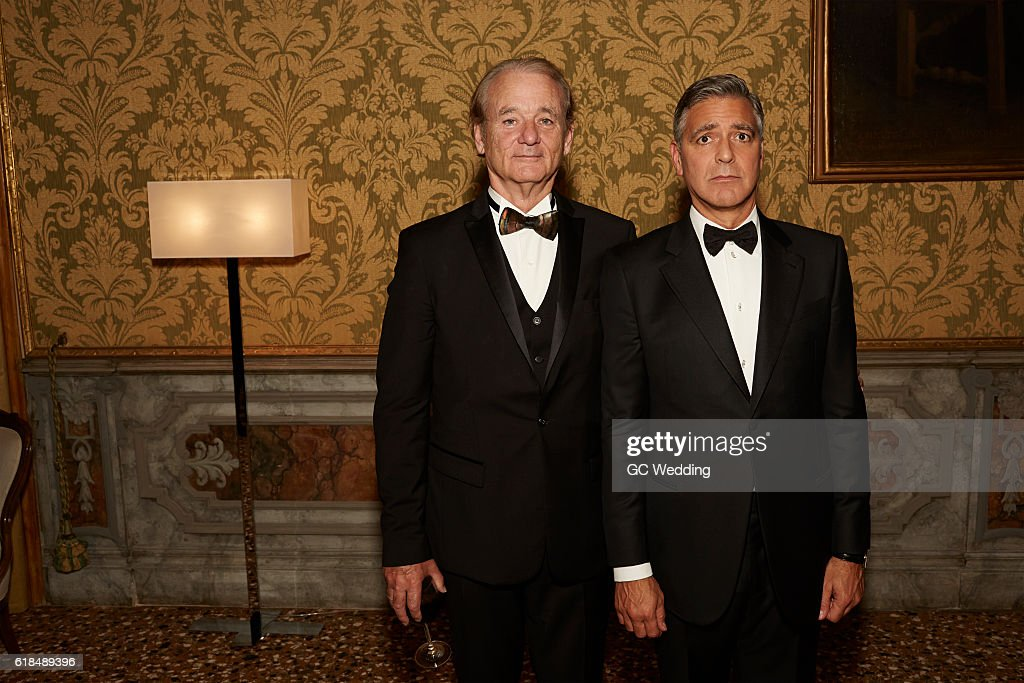 ¿Cuánto mide Bill Murray? - Real height Bill-murray-and-george-clooney-attend-the-george-clooney-and-amal-picture-id618489396
