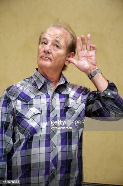 Bill Murray at the 'St Vincent' Press Conference at the Fairmont Royal York on September 6 2014 in Toronto Ontario