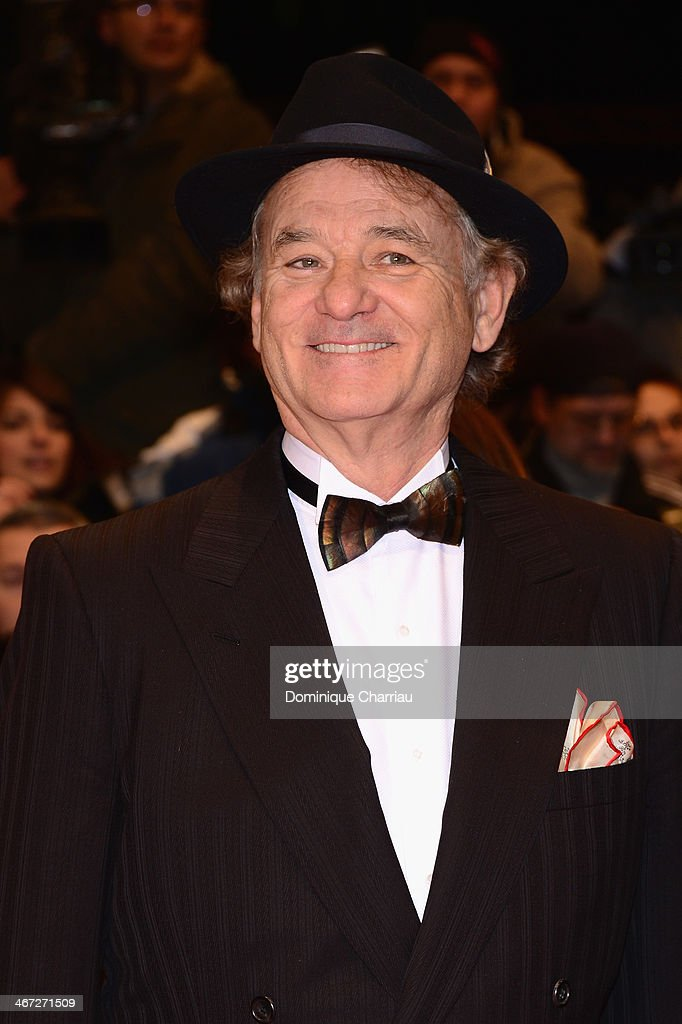 <a gi-track='captionPersonalityLinkClicked' href=/galleries/search?phrase=Bill+Murray&family=editorial&specificpeople=171116 ng-click='$event.stopPropagation()'>Bill Murray</a> attends 'The Grand Budapest Hotel' Premiere during the 64th Berlinale International Film Festival at Berlinale Palast on February 6, 2014 in Berlin, Germany.