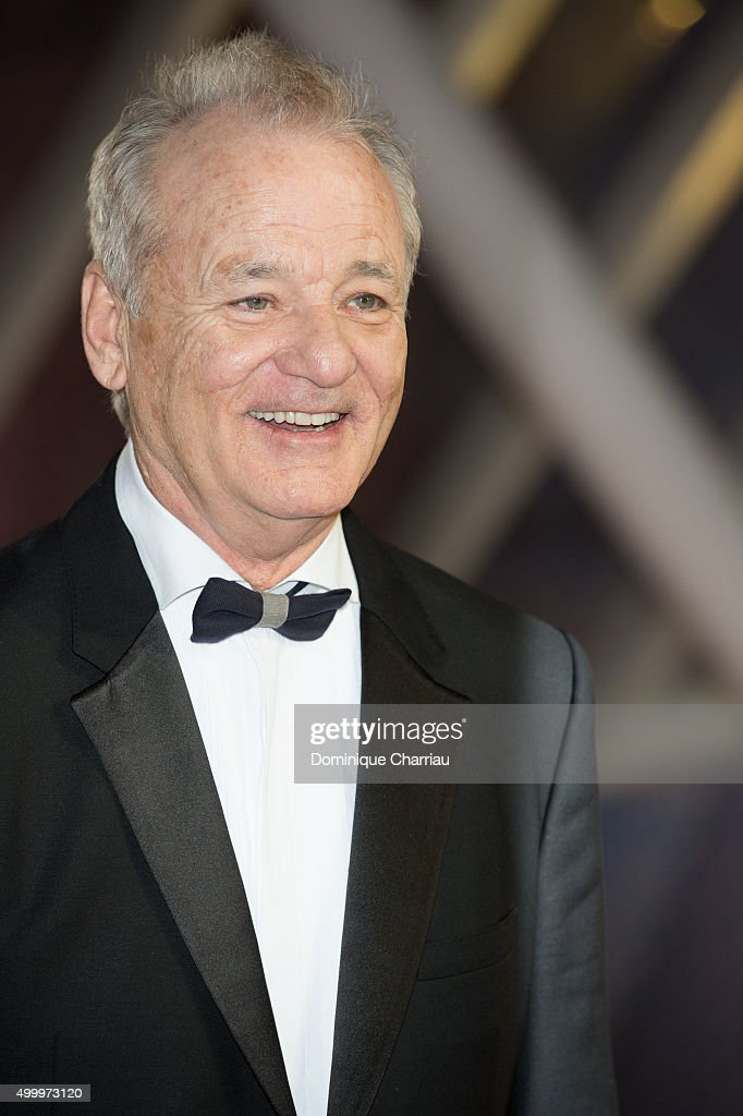 Bill Murray attends the Opening Ceremony of the15th Marrakech International Film Festival on December 4 2015 in Marrakech Morocco