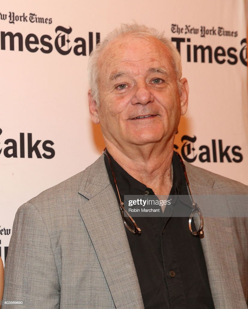 Bill Murray, Jan Vogler And Friends In Conversation at The Times Center on June 29, 2017 in New York City.