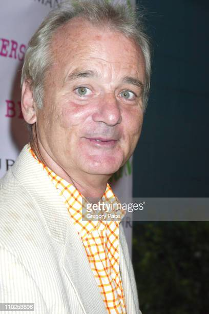 Bill Murray during 'Broken Flowers' New York City Premiere Arrivals at Chelsea West Cinemas in New York City New York United States