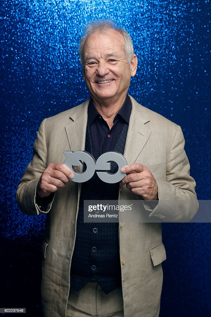 Bill Murray poses backstage at the GQ Men of the year Award 2016 (german: GQ Maenner des Jahres 2016) at Komische Oper on November 10, 2016 in Berlin, Germany.