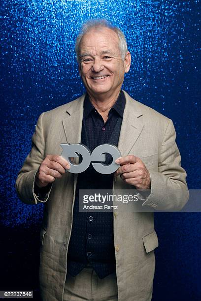 Bill Murray poses backstage at the GQ Men of the year Award 2016 at Komische Oper on November 10 2016 in Berlin Germany