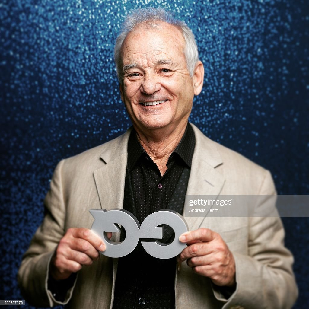 This image was processed using digital filters.) Bill Murray poses backstage at the GQ Men of the year Award 2016 (german: GQ Maenner des Jahres 2016) at Komische Oper on November 10, 2016 in Berlin, Germany.